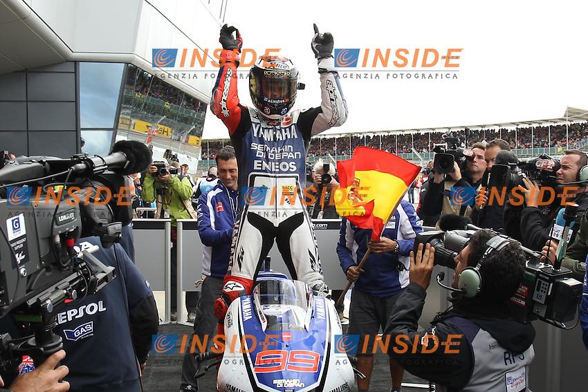 .17-06-2012 Silverstone (ENG).Motogp - motogp.in the picture: Jorge Lorenzo - Yamaha factory team