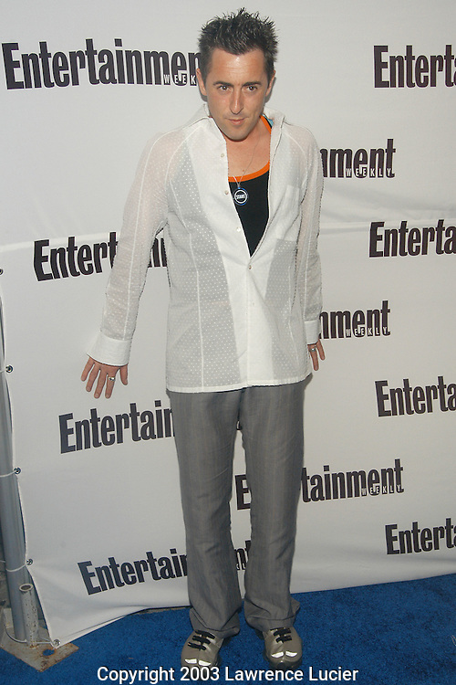 NEW YORK - JUNE 23: Actor Alan Cumming arrives June 23, 2003, at Entertainment Weekly's Second Annual IT  List Party at the Roxy in New York City.