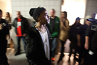 AUBURN HILLS, MI - DECEMBER 1: Big Sean backstage before his concert with special guest Kanye West and Common at The Palace of Auburn Hills in Auburn Hills, Michigan. December 1, 2012. Credit: Joe Gall/MediaPunch Inc. ©/NortePhoto /NortePhoto©