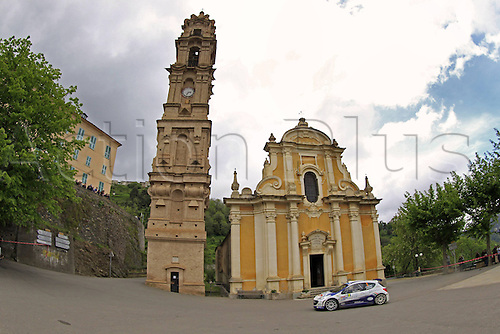 17.05.2013. Corsica.   Graig Breen FRA Peugeot 207 S2000 Automobiles Rally Tour de Corse , Rallye de France.