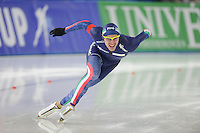 SCHAATSEN: BERLIJN: Sportforum Berlin, 05-12-2014, ISU World Cup, Mirko Giacomo Nenzi (ITA), ©foto Martin de Jong