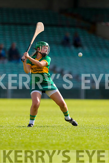 Kerry goalkeeper Alanna Maunsell  in action against Dublin in the Camogie All Ireland Semi Finals at The Gaelic Grounds Limerick on Saturday.