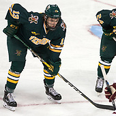 Liam Coughlin (UVM - 13) - The visiting University of Vermont Catamounts tied the Boston College Eagles 2-2 on Saturday, February 18, 2017, Boston College's senior night at Kelley Rink in Conte Forum in Chestnut Hill, Massachusetts.Vermont and BC tied 2-2 on Saturday, February 18, 2017, Boston College's senior night at Kelley Rink in Conte Forum in Chestnut Hill, Massachusetts.