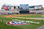 Yankee Stadium,<br /> APRIL 7, 2014 - MLB :<br /> A general view. The Opening Week logo is seen on the field during batting practice before the Yankees home opener against the Baltimore Orioles at Yankee Stadium in Bronx, New York, United States. (Photo by Thomas Anderson/AFLO) (JAPANESE NEWSPAPER OUT)