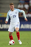 England's Alfie Mawson in action during the UEFA Under 21 Semi Final at the Stadion Miejski Tychy in Tychy. Picture date 27th June 2017. Picture credit should read: David Klein/Sportimage