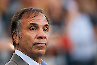 Los Angeles Galaxy head coach Bruce Arena prior to playing the Philadelphia Union. The Los Angeles Galaxy defeated the Philadelphia Union 4-1 during a Major League Soccer (MLS) match at PPL Park in Chester, PA, on May 15, 2013.