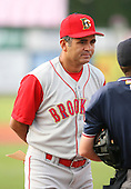 2007 Brooklyn Cyclones.Class-A affiliate of the New York Mets.NY-Penn League.Photo By:  Mike Janes
