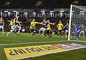 19/04/2016 Sky Bet League Championship  Burnley v Middlesbrough<br /> Michael Keane lines up to score