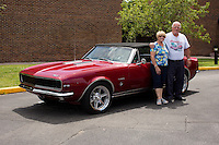 1967 Custom Camaro 1967 Senior (#85) – 1967 Chevrolet Camaro Rally Sport Convertible registered to Ronald D. Carper is pictured during 4th State Representative Chevy Show on Thursday, June 30, 2016, in Fort Wayne, Indiana. (Photo by James Brosher)