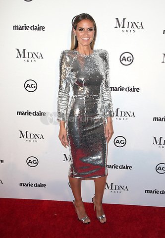 WEST HOLLYWOOD, CA - JANUARY 11: Heidi Klum at Marie Claire's Third Annual Image Makers Awards at Delilah LA in West Hollywood, California on January 11, 2018. Credit: Faye Sadou/MediaPunch