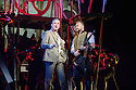 London, UK. 12.02.2016. Jeff Wayne's Musical Version of the War of the Worlds opens at the Dominion Theatre. Picture shows: Michael Praed (Goerge Herbert), Daniel Bedingfield (The Artilleryman). Photograph © Jane Hobson.