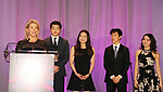 Tina Lundgren, Alex and Maia Shibutani, Nathan & Karen Chen - Figure Skating in Harlem's Champions in Life (in its 21st year) Benefit Gala recognizing the medal-winning 2018 US Olympic Figure Skating Team on May 1, 2018 at Pier Sixty at Chelsea Piers, New York City, New York. (Photo by Sue Coflin/Max Photo)