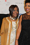 Cicely Tyson, Tamron Hall - The 11th Annual Skating with the Stars Gala - a benefit gala for Figure Skating in Harlem - honoring Cicely Tyson (film, tv and stage actress and was on The Guiding Lignt) on April 11, 2016 on Park Avenue in New York City, New York with many Olympic Skaters and Celebrities. (Photo by Sue Coflin/Max Photos)