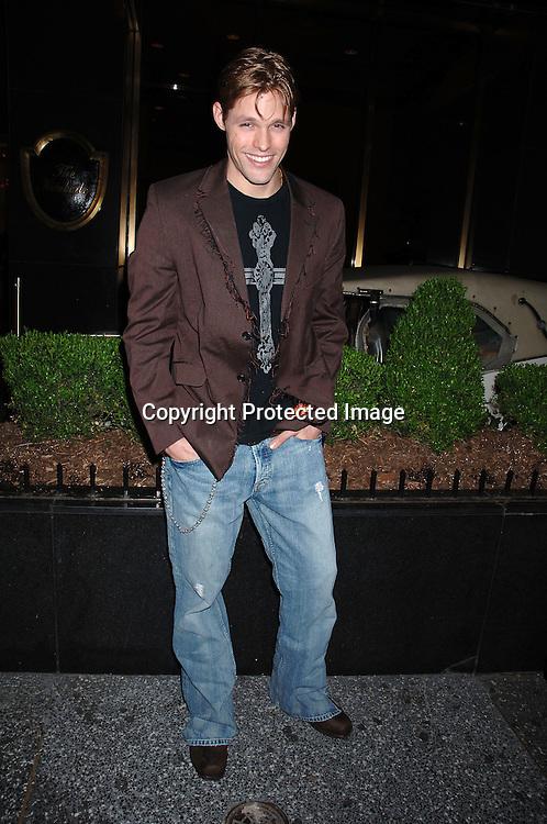 Justin Bruening ..at Marcia Tovsky's Pre Emmy Party on April 19, 2006..at Nikki Midtown...Robin Platzer, Twin Images