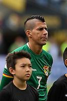 Seattle, WA - Tuesday June 14, 2016: Juan Carlos Arce during a Copa America Centenario Group D match between Argentina (ARG) and Bolivia (BOL) at CenturyLink Field.