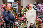 Reidy's Wreaths showing their Christmas wreaths at the Arty Bits Craft Fayre at the Ashe Hotel on Sunday. Pictured l-r  Derville Spring, Susan Curran and Mary Spring.