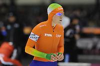 SCHAATSEN: HEERENVEEN: IJsstadion Thialf, 16-11-2012, Essent ISU World Cup, Season 2012-2013, Ladies 3000 meter Division A, Ireen Wüst (NED), ©foto Martin de Jong