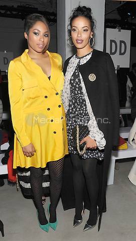 NEW YORK, NY - FEBRUARY 11: Alicia Quarles and Selita Ebanks attend the Marissa Webb Fall 2016 show during New York Fashion Week at Skylight at Clarkson Sq on February 11, 2016 in New York City.  Credit: John Palmer/MediaPunch