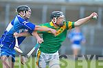 Kilmoyley's Colin Harris and St Brendan's Darren Dineen.   Copyright Kerry's Eye 2008