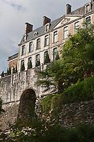 Europe/France/Aquitaine/24/Dordogne/Nontron: Château de Nontron qui abrite le Pôle Expérimental Métiers d'Art