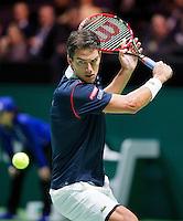 Februari 11, 2015, Netherlands, Rotterdam, Ahoy, ABN AMRO World Tennis Tournament, Jesse Huta Galung (NED) <br /> Photo: Tennisimages/Henk Koster