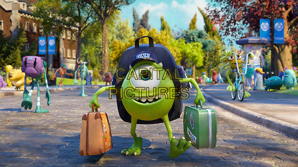 Mike (voice of Billy Crystal)<br /> in Monsters University (2013) <br /> *Filmstill - Editorial Use Only*<br /> CAP/FB<br /> Image supplied by Capital Pictures