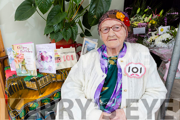 Catherine Stack Killorglin who celebrated her 101 birthday on Wednesday