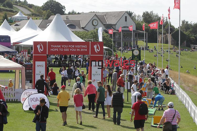 ISPS Handa Wales Open 2013<br /> Tented Village<br /> 01.09.13<br /> <br /> &copy;Steve Pope-Sportingwales