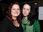 Wendy Rock and Suzanne Faulkner pictured at Paddy Goodwin and the Holy Ghosts gig in The Venue in McHugh's The gig was in aid of the Alzheimer Society of Ireland. Photo: Colin Bell/pressphotos.ie