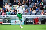 Stockholm 2014-06-18 Fotboll Superettan Hammarby IF - GAIS :  <br /> Hammarbys Pablo Pinones-Arce i aktion <br /> (Foto: Kenta J&ouml;nsson) Nyckelord:  Superettan Tele2 Arena Hammarby HIF Bajen GAIS portr&auml;tt portrait
