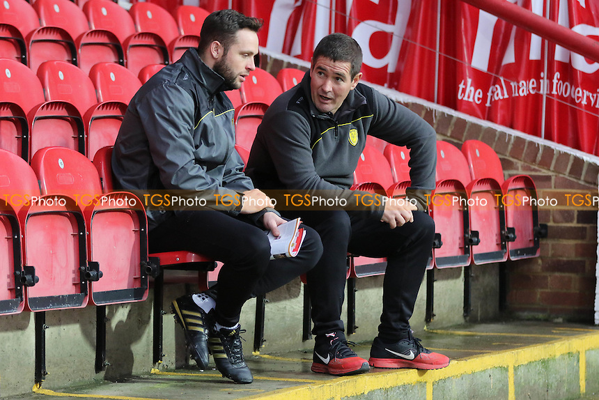 Burton Albion Manager, Nigel Clough pre-match during Brentford vs Burton Albion, Sky Bet EFL Championship Football at Griffin Park on 10th December 2016