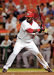 6 June 2007: Washington Nationals shortstop Cristian Guzman in action against the Pittsburgh Pirates at RFK Stadium in Washington, DC. The Nationals defeated the Pirates 6-5 in the second game of their 3-game series...Mandatory Credit: Ed Wolfstein Photo
