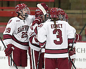 - The Harvard University Crimson defeated the visiting Boston University Terriers 3-1 on Friday, November 22, 2013, at Bright-Landry Hockey Center in Cambridge, Massachusetts.
