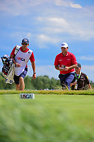 Patrick Reed (USA) approaches the 7th tee during Sunday's round 4 of the 117th U.S. Open, at Erin Hills, Erin, Wisconsin. 6/18/2017.<br /> Picture: Golffile | Ken Murray<br /> <br /> <br /> All photo usage must carry mandatory copyright credit (&copy; Golffile | Ken Murray)