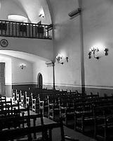 Mission Concepcion interior, San Antonio, Texas.<br /> <br /> Mamiya RB67 Pro SD, 65mm lens, Kodak TMAX 400 film