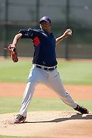 Kelvin De La Cruz - Cleveland Indians 2009 Instructional League.Photo by:  Bill Mitchell/Four Seam Images..