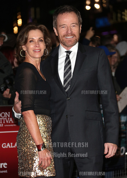Bryan Cranston and Robin Dearden at the 56th BFI London Film Festival: Argo - Accenture gala, held at the Odeon Leicester Square. 17/10/2012 Picture by: Henry Harris / Featureflash