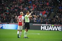 VOETBAL: AMSTERDAM: 16-04-2017, AJAX - SC Heerenveen, uitslag 5 - 1, Scheidsrechter Danny Makkelie, ©foto Martin de Jong