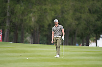 Haydn Porteous (RSA) in action on the 1st hole during final round at the Omega European Masters, Golf Club Crans-sur-Sierre, Crans-Montana, Valais, Switzerland. 01/09/19.<br /> Picture Stefano DiMaria / Golffile.ie<br /> <br /> All photo usage must carry mandatory copyright credit (© Golffile | Stefano DiMaria)