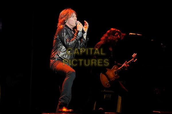 LONDON, ENGLAND - APRIL 13: Joey Tempest of Europe performing at the Eventim Apollo on April 13, 2014 in London, England.<br /> CAP/MAR<br /> &copy; Martin Harris/Capital Pictures