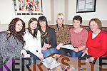 QUIZ:: Answering the questions at the Table Quiz to raise funds Arlingtoin Lodge Homeless Centre,Tralee, on Friday night at the Stretford (Mchales) Bar & Restauran, L-r: Kate O'Halloran, Grace Corridon, Helen and Sophie Casey, Kitty O'Halloran and Kathleen Casey.