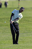Bubba Watson (USA) chips onto the 6th green during Sunday's Final Round of the 2018 AT&amp;T Pebble Beach Pro-Am, held on Pebble Beach Golf Course, Monterey,  California, USA. 11th February 2018.<br /> Picture: Eoin Clarke | Golffile<br /> <br /> <br /> All photos usage must carry mandatory copyright credit (&copy; Golffile | Eoin Clarke)