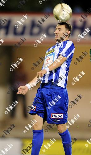2011-08-31 / Voetbal / seizoen 2011-2012 / KV Turnhout / Aldin Dino Peljto..Foto: Mpics