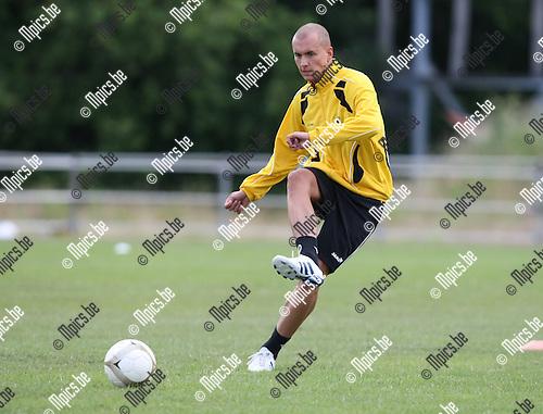 2010-06-19 / Voetbal / seizoen 2010-2011 /  Eerste training SK Lierse / Timothy Dreesen..Foto: mpics