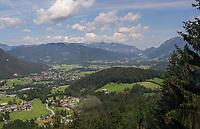 Blick über das Berchtesgadener Land - Berchtesgaden 17.07.2019: Fahrt auf den Jenner