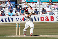 James Hildreth in batting action for Somerset during Essex CCC vs Somerset CCC, Specsavers County Championship Division 1 Cricket at The Cloudfm County Ground on 27th June 2018