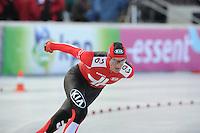 SCHAATSEN: BOEDAPEST: Essent ISU European Championships, 07-01-2012, 5000m Men, Martin Hänggi SUI, ©foto Martin de Jong