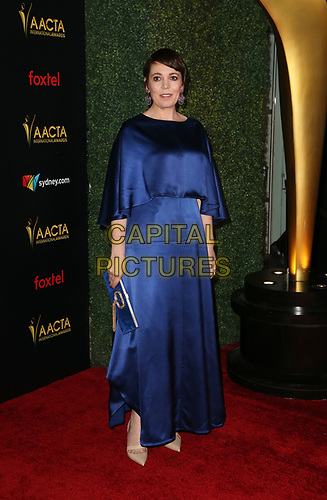 4 January 2019 - West Hollywood, California - Olivia Colman. the 8th AACTA International Awards held at Skybar at Mondrian.        <br /> CAP/ADM/FS<br /> ©FS/ADM/Capital Pictures