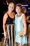 Karen O'Carroll and Liz Maher (both from Tralee), pictured at the Rose of Tralee Fashion Show on Sunday night last held in the Dome, Tralee.