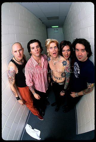 Buckcherry session in Chicago.<br /> 1991<br /> &copy; Gene Ambo / MediaPunch **NO UK or Japan***